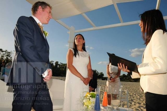 Elisa and David_beach wedding in Costarei_Sardinia