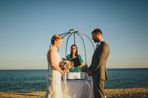 Celebrant for wedding in Orosei